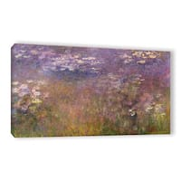 Claude Monet's 'Water Lilies (Agapanthus) 1915-26' Gallery Wrapped Canvas