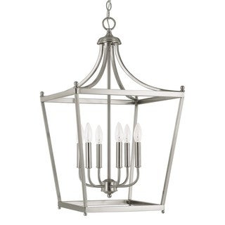 Capital Lighting Stanton Collection 6-light Brushed Nickel Foyer Pendant