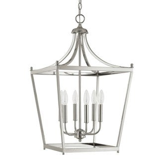 Capital Lighting Stanton Collection 6-light Polished Nickel Foyer Pendant