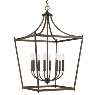 Capital Lighting Stanton Collection 8-light Burnished Bronze Foyer Pendant