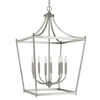 Capital Lighting Stanton Collection 8-light Brushed Nickel Foyer Pendant