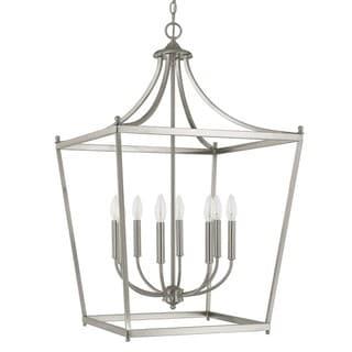 Capital Lighting Stanton Collection 8-light Brushed Nickel Foyer Pendant