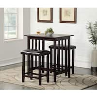 Safavieh Winery 3 Piece Counter Height Pub Set Free