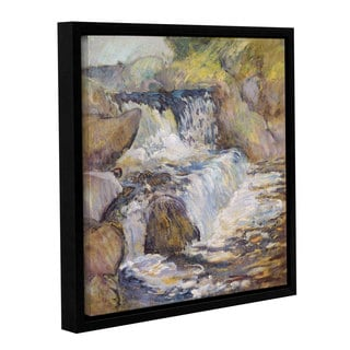 John Henry Twachtman's 'The Cascade, c.1889' Gallery Wrapped Floater-framed Canvas