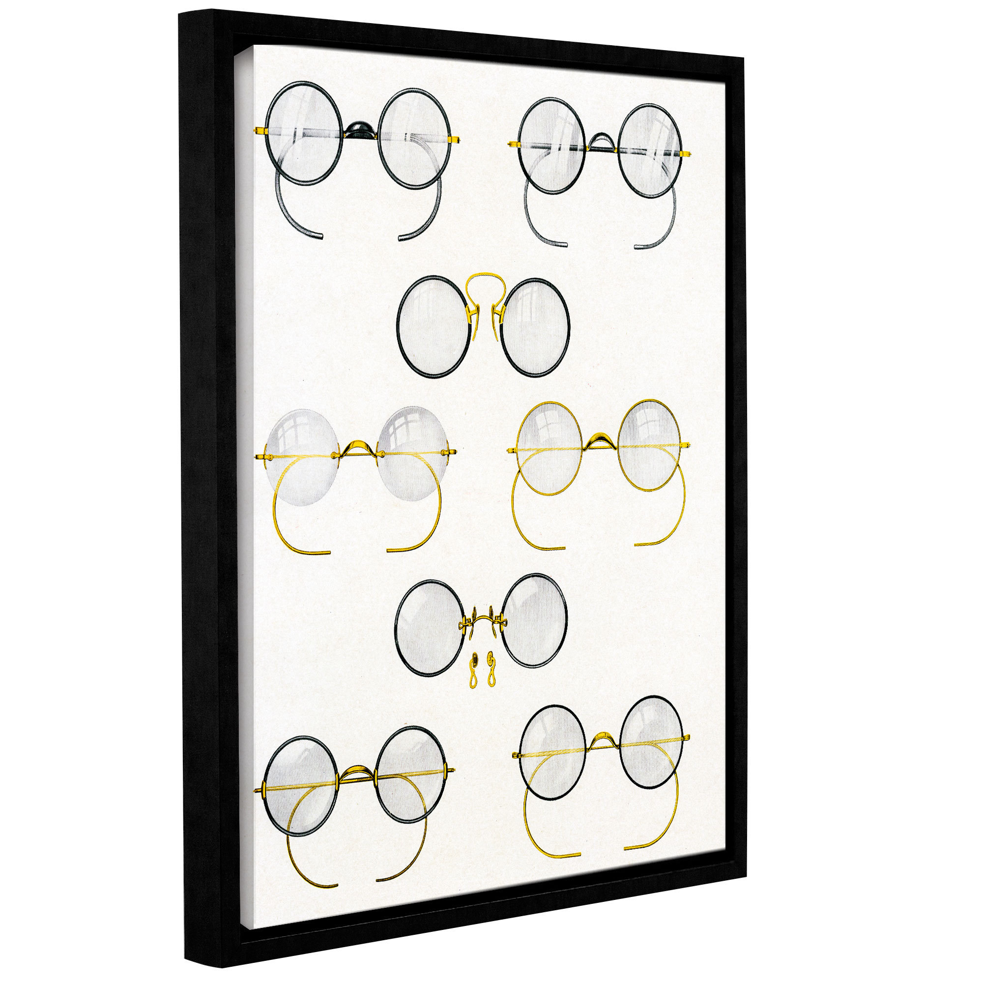 ArtWall American School 'Eight Pairs of Glasses, c.1925' ...