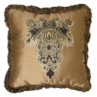 Veratex Villa Rey Gold Throw Pillow