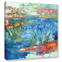 Pamela J. Wingard's 'Blue Marsh' Gallery Wrapped Canvas