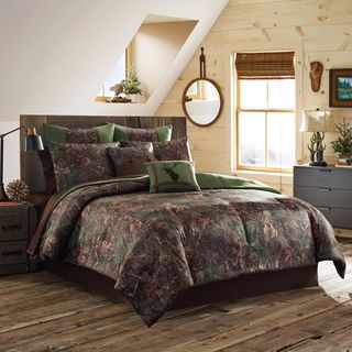 True Timber Mixed Pine 4-piece Comforter Set