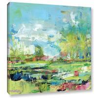 Pamela J. Wingard's 'Summer Coast' Gallery Wrapped Canvas