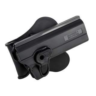 Swiss Arms Polymer Holster For Colt 1911 Series-Black
