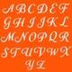 Authentic Sol Monogrammed Pestemal Fouta Dark Orange Tonal Stripe Turkish Cotton Bath/ Beach Towel - Thumbnail 1