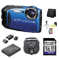 Fujifilm FinePix XP80 Camera Bundle (Blue)