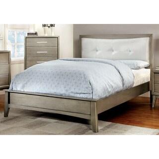 Furniture of America Hosh Modern Solid Wood Platform Bed