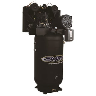 EMAX Industrial 7.5 HP 1-Phase 80-gallon Electric Air Compressor