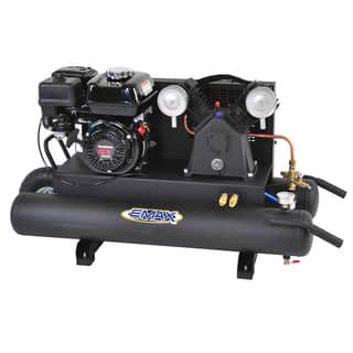 EMAX 10-gallon 6.5 HP 2-Cycle Portable Gas Wheelbarrow Air Compressor with Honda Gas Powered Recoil Start Engine|https://ak1.ostkcdn.com/images/products/11692244/P18617399.jpg?impolicy=medium