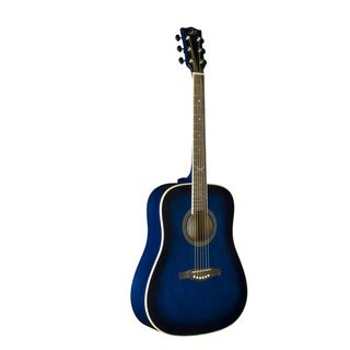 Eko Guitars NXT Series Blueburst Dreadnought Acoustic Guitar