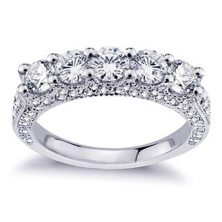 Platinum 2 1/2ct TDW Diamond Wedding Band