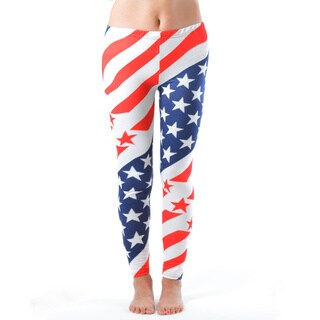 USA Olympic Style Plus Size Leggings (3 options available)