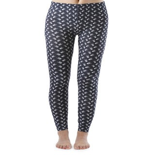 Black And White Skull Plus Size Ankle Leggings