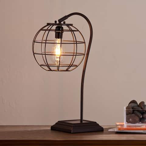 Carbon Loft Junius Contemporary Brown Table Lamp