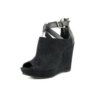 American Rag Women's 'Aromi' Faux Black Suede Sandals