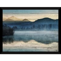 Stillness Giclee Wood Wall Decor