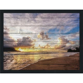 Over The Hill' Giclee Wood Wall Decor
