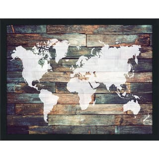 Map picture perfect international art gallery shop our best home world map on wood 2 giclee wood wall decor gumiabroncs Images