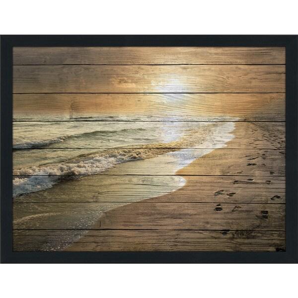 Footprints Wall Decor : Footprints giclee wood wall decor free shipping today
