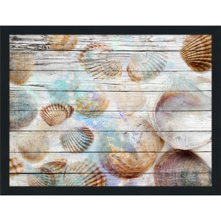 Shells 1' Giclee Wood Wall Decor