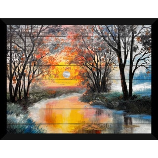 Meadow Waters' Giclee Wood Wall Decor