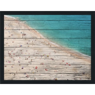 Beach Please V' Giclee Wood Wall Decor