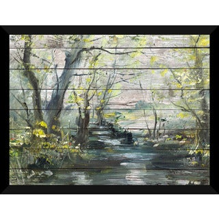 Serene Path 6' Giclee Wood Wall Decor