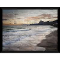 Tranquility Giclee Wood Wall Decor