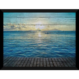 In The Distance' Giclee Wood Wall Decor