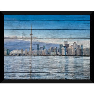 Toronto By Day Giclee Wood Wall Decor
