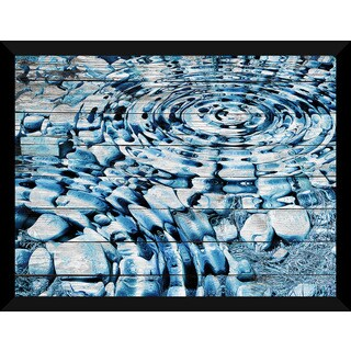 Water Stones 1' Giclee Wood Wall Decor