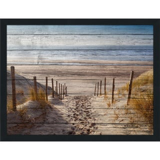 Path To Ocean' Giclee Wood Wall Decor