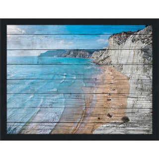 Scala Dei Turchi, Sicily, Italy' Giclee Wood Wall Decor