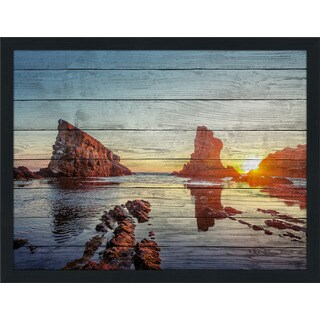 Seaside Serenity' Giclee Wood Wall Decor