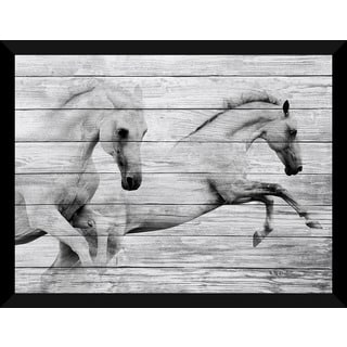 In Pairs' Giclee Wood Wall Decor