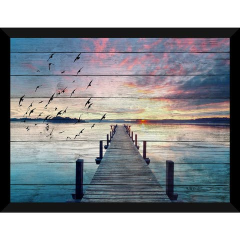 Learn To Fly Giclee Wood Wall Decor
