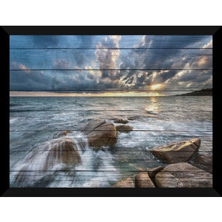 Ocean Bliss' Giclee Wood Wall Decor