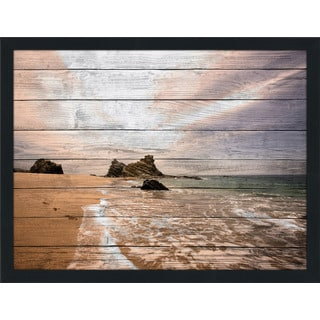 Lifes A Beach Ii' Giclee Wood Wall Decor