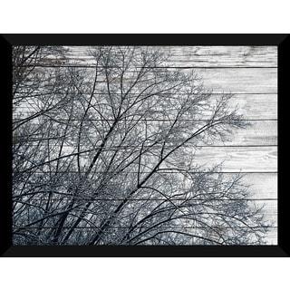 Trees' Giclee Wood Wall Decor