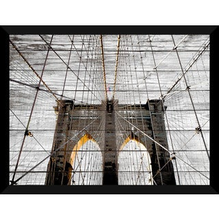 Brooklyn Bridge' Giclee Wood Wall Decor