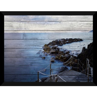 Down By The Bay Giclee Wood Wall Decor