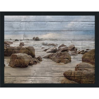 Sandy Beaches' Giclee Wood Wall Decor