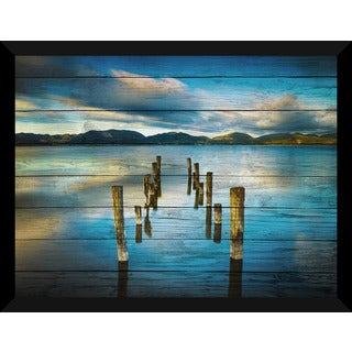 Versilia Massaciuccoli, Tuscany, Italy' Giclee Wood Wall Decor