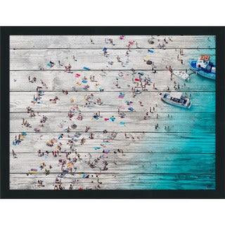 Beach Please Viii' Giclee Wood Wall Decor